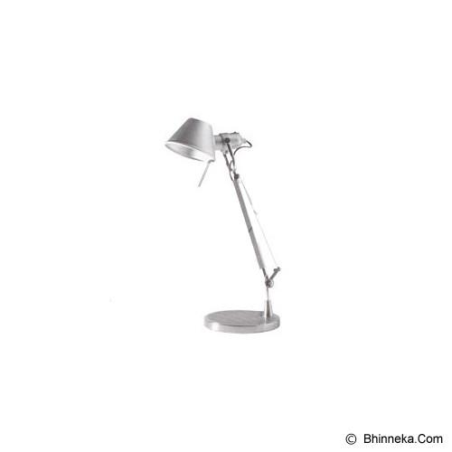 LUMBENCY Lampu Meja [A606] - Silver - Lampu Meja